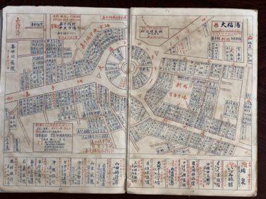 1967年頃の嘉手納商店街地図