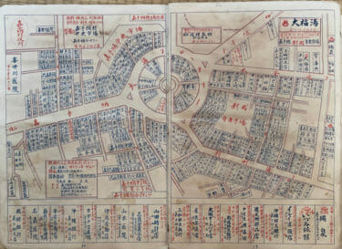 1955年の中部商工案内地図
