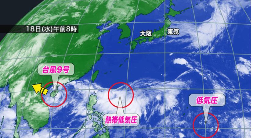 台風10号が今日にも発生 沖縄への影響も