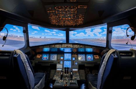 JFlight 横浜で本格的なフライトシュミレーター体験!