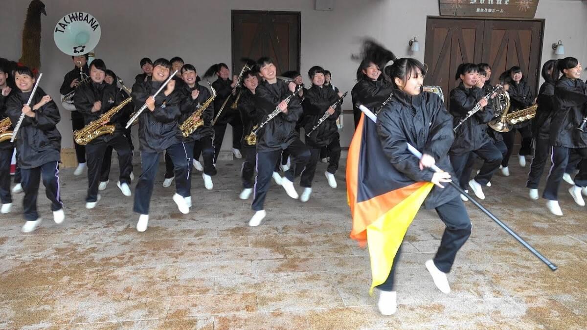 Kyoto Tachibana SHS Band 京都橘高校吹奏楽部