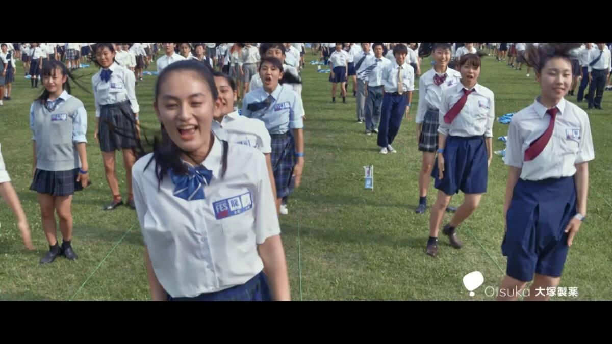 ポカリスエットweb movie|「ポカリガチダンスFES ドローン60秒」篇