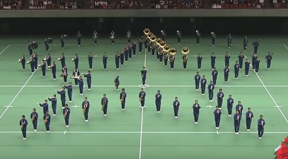 精華女子 2016 The 29th All Japan marching contest【Gold】