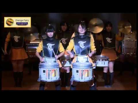 京都橘高校 ファンシーステージ2014  パーカッションパート
