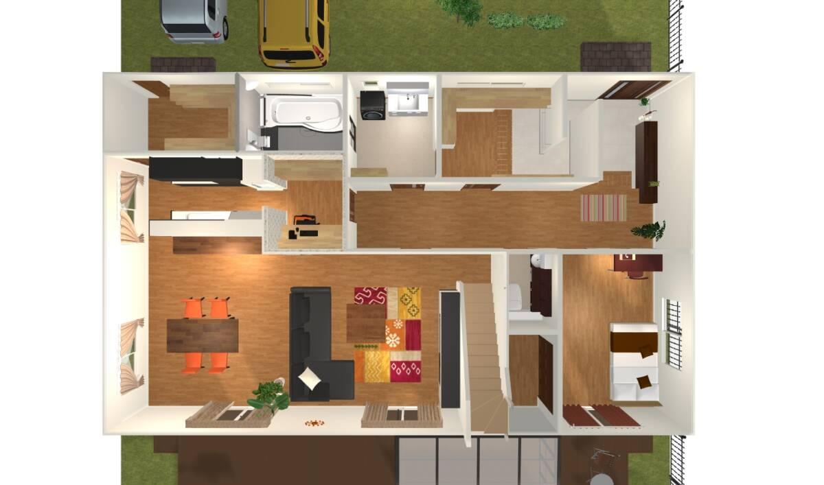 無料の3Dレイアウトソフトが凄すぎる(Sweet Home 3D)
